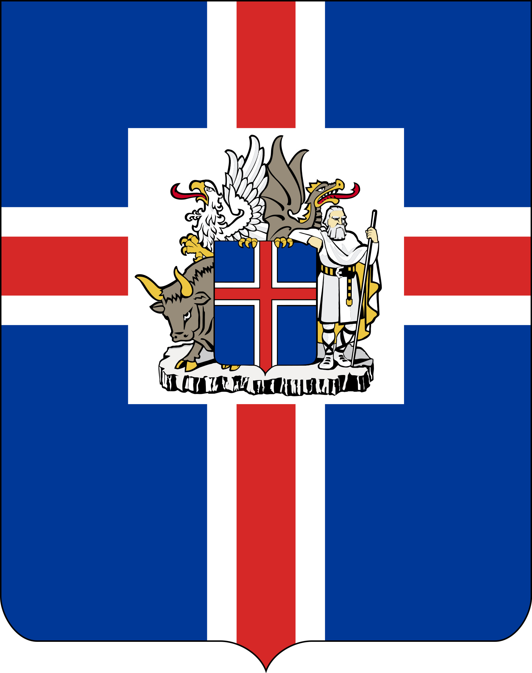 Coat of arms of the President of Iceland